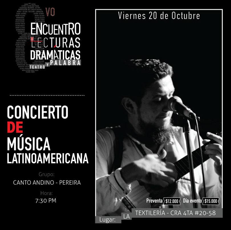 Concierto de música latinoamericana