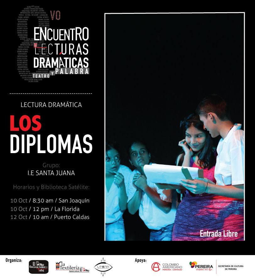 Lectura dramática Los Diplomas