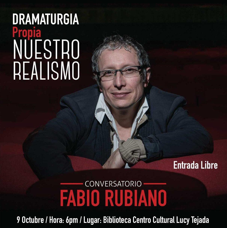 Conversatorio con Fabio Rubiano